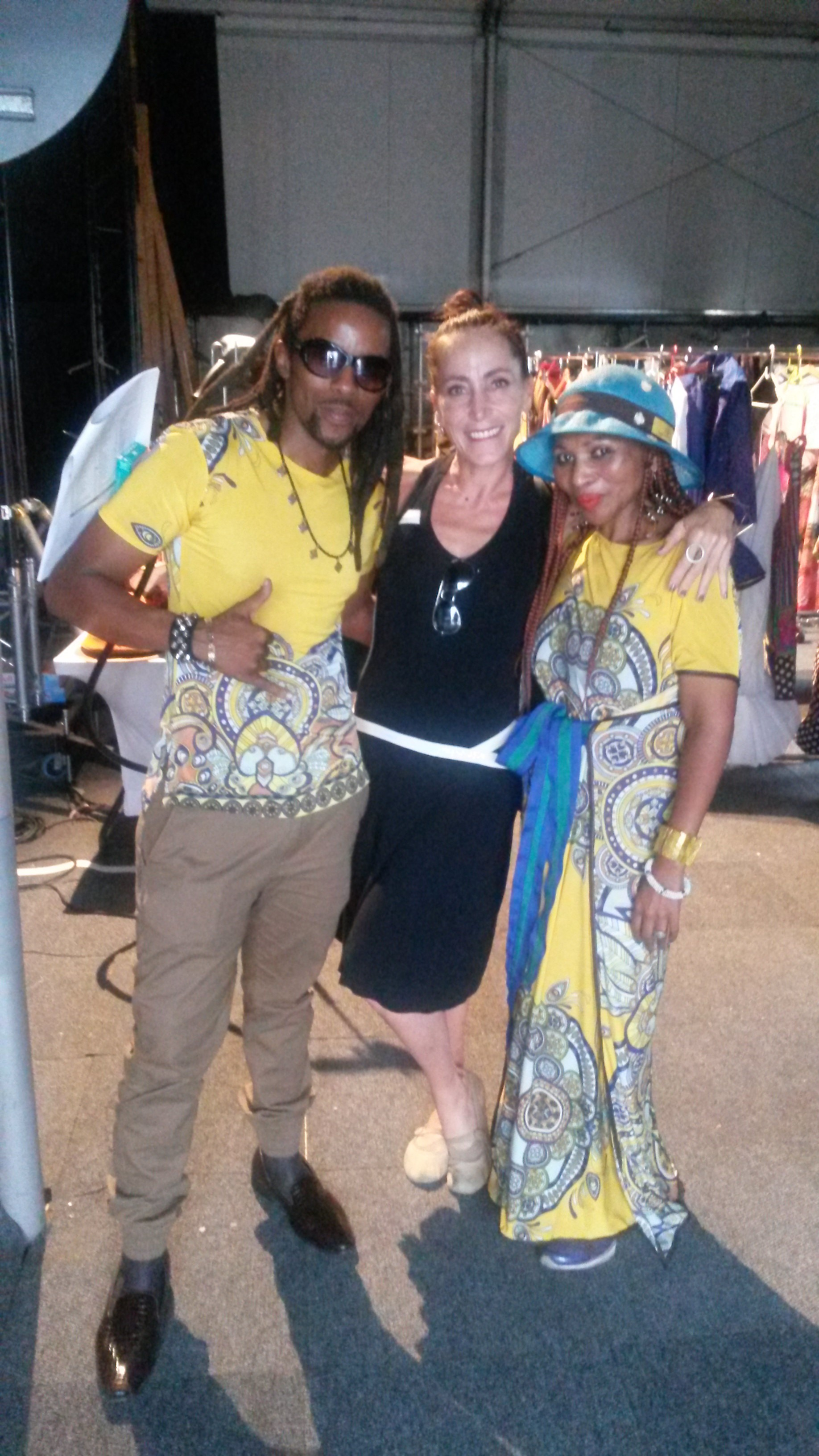 With Sun Godddess, South African Fashion Week, Joburg